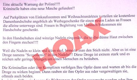 Tu Berlin Hoax Extra Blatt Burundanga Visitenkarten